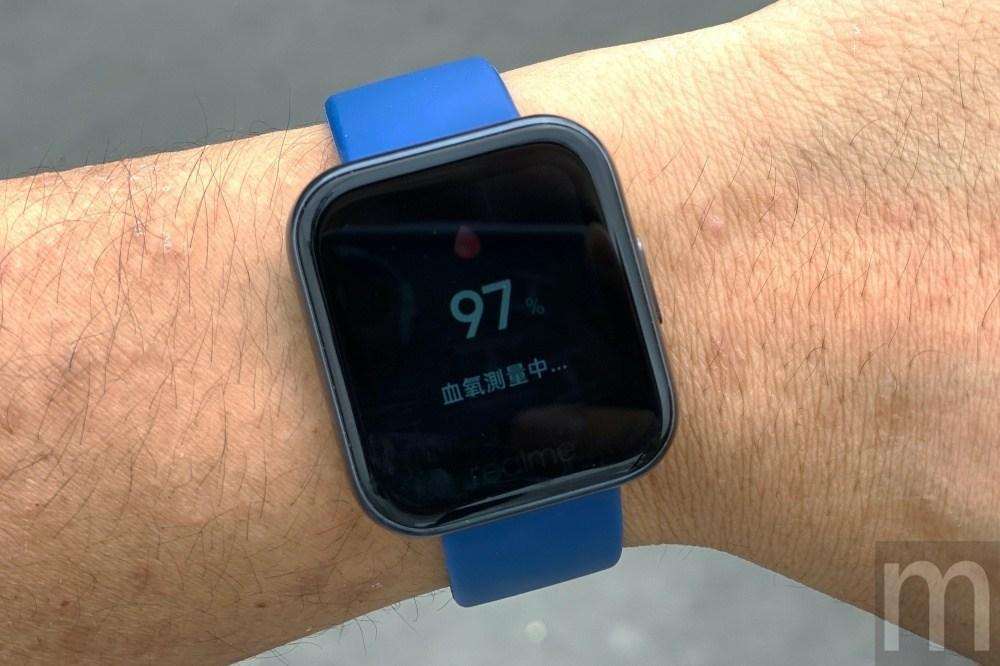 IMG 3336 動手玩/親民價位就擁有心率、睡眠與血氧量測功能的realme Watch