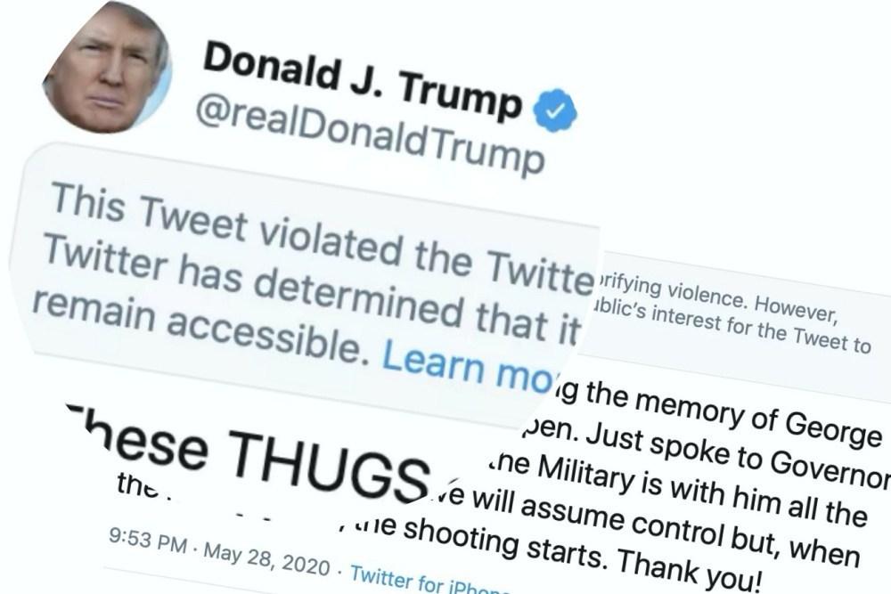 1591017751827 抽樣調查顯示過半美國成年人贊成對美國總統川普的Twitter發文進行審核