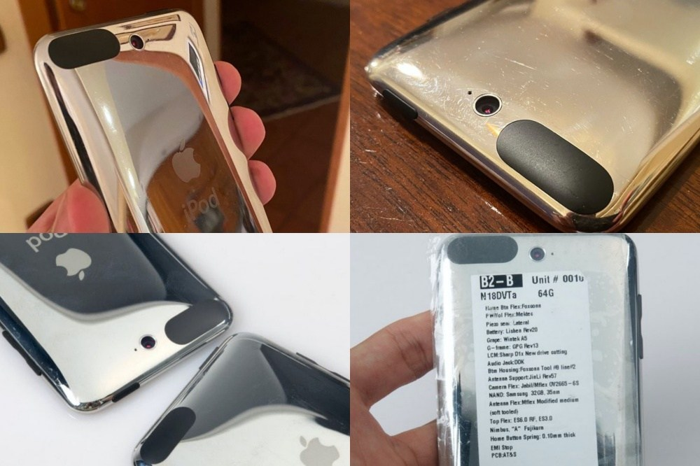 collage 蘋果其實在早期iPod touch就規劃增加相機功能