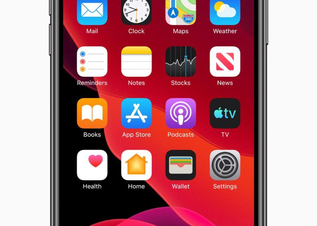 Apple ios 13 home screen iphone xs 06032019 1140x815 1 1024x732 蘋果計畫讓使用者能在iOS 14桌面增加放置小工具
