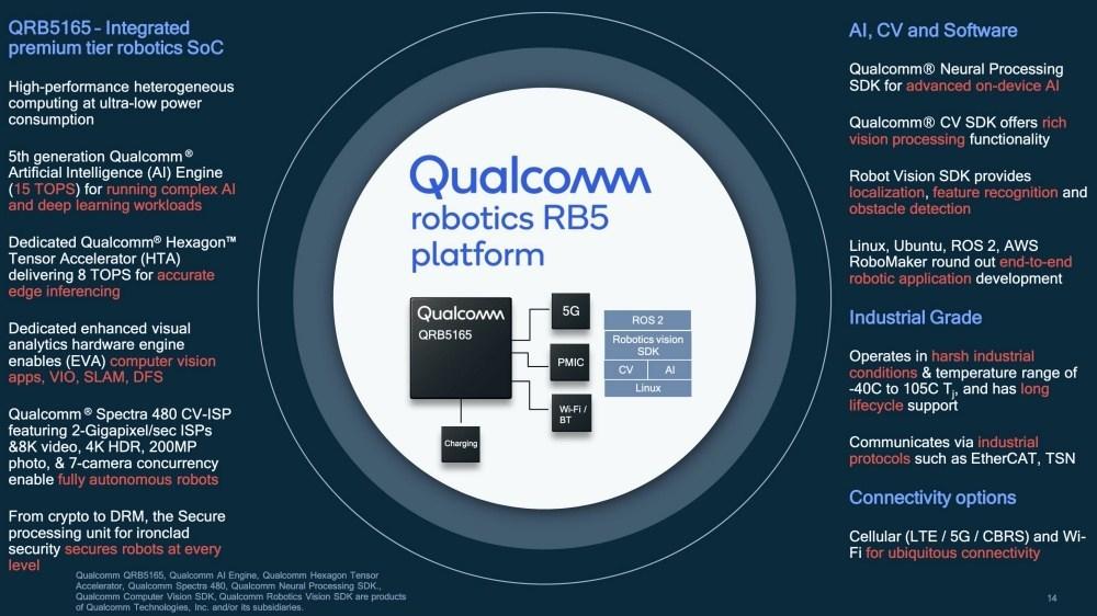 mashdigi capture 2020 06 18 下午2.12.30 Qualcomm更新機器人設計平台,導入更高運算效能與5G連網能力