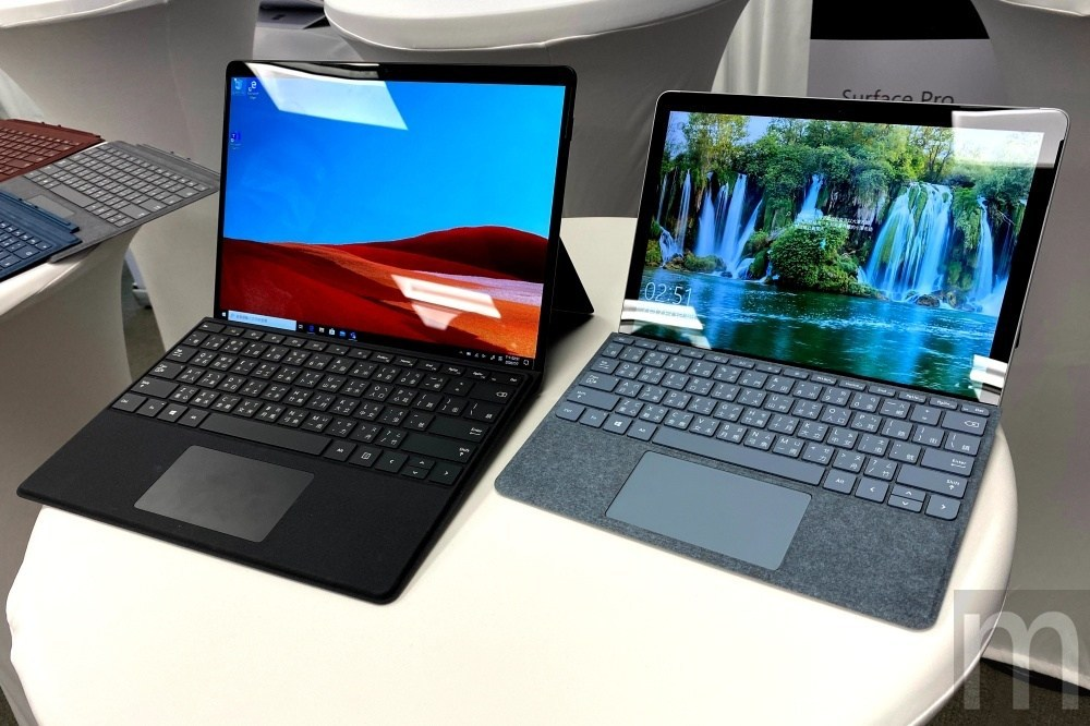 IMG 4090 Surface Pro X之後,微軟也在台灣引進Surface Go 2及Surface Book 3