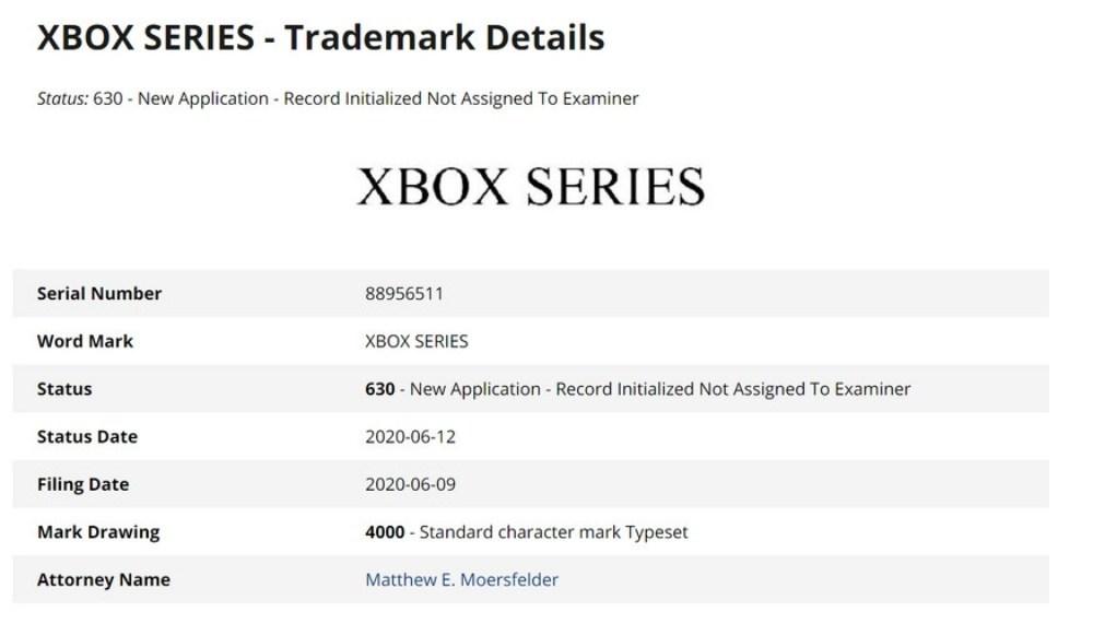 d10844e004ce71e 微軟申請「Xbox Series」商標名稱專利,暗示未來將推出不同機種?