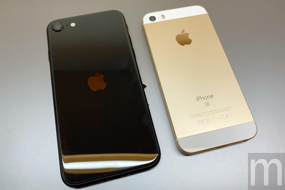 batch IMG 3073 動眼看/以iPhone 8為基礎的新款iPhone SE,與第一款設計比較