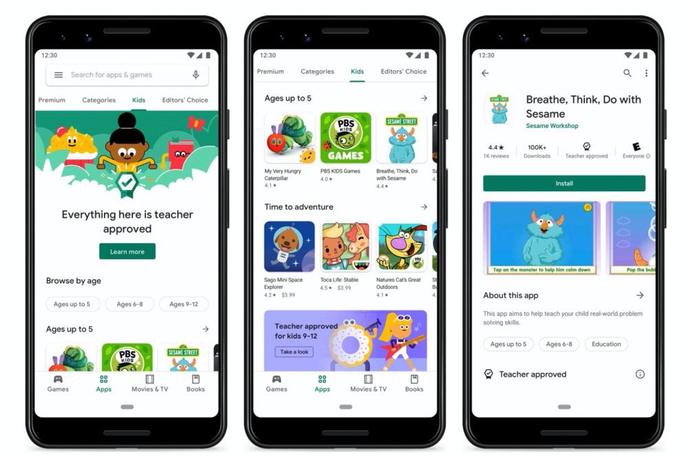 R2 teacherapproved blog scrolly side Google Play Store將增加兒童專區與教師認可標示,方便識別學齡兒童適用app