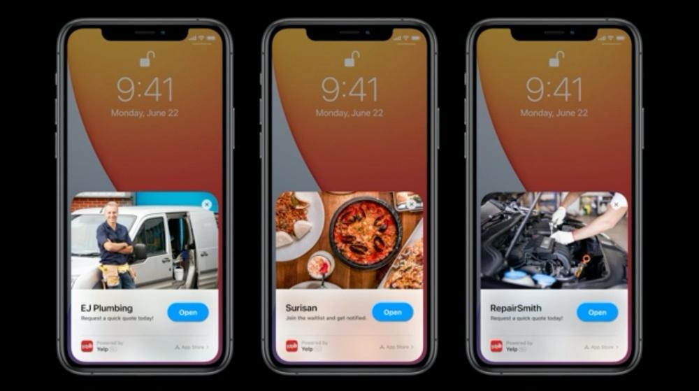 Apple App Clips Google Instant Apps WeChat Mini App LINE Mini App