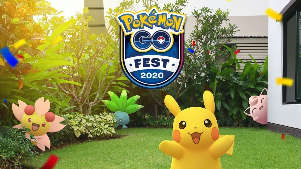 PGO Fest Key Art Niantic公佈以線上形式舉辦Pokémon GO Fest 2020具體活動細節