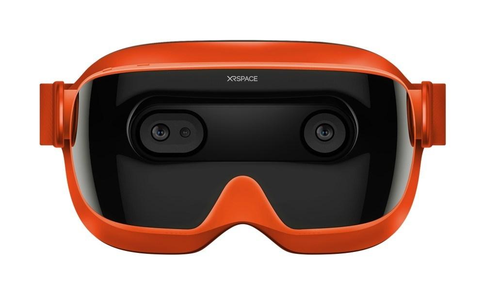 Dp WDKjw 前HTC執行長周永明創立,XRSPACE推出首款5G混合實境頭戴裝置