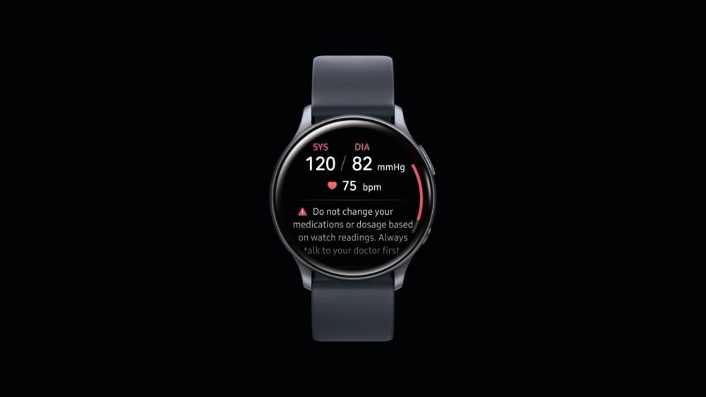 Samsung Health Monitor main side 三星獲准在Galaxy Watch Active 2加入血壓量測功能