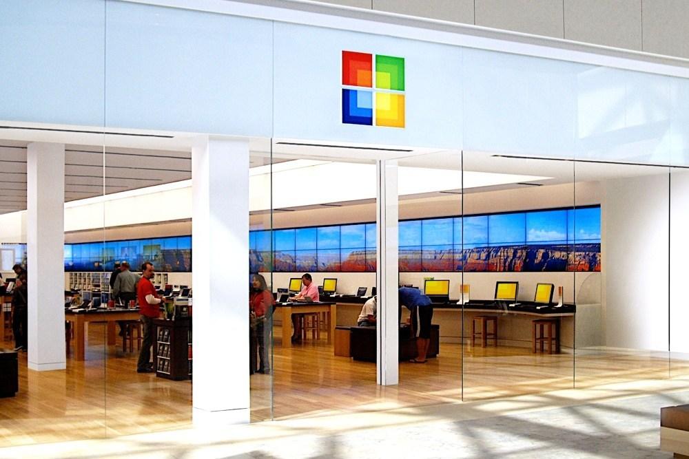 Microsoft Store Front 因疫情影響與銷售模式改變,微軟決定關閉所有實體零售店面