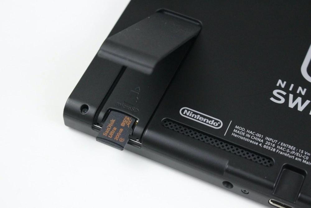 resize nintendo switch micro sd card slot Nintendo Swtich新版韌體終於可將主機存放遊戲全數移到記憶卡、新增按鍵自訂功能